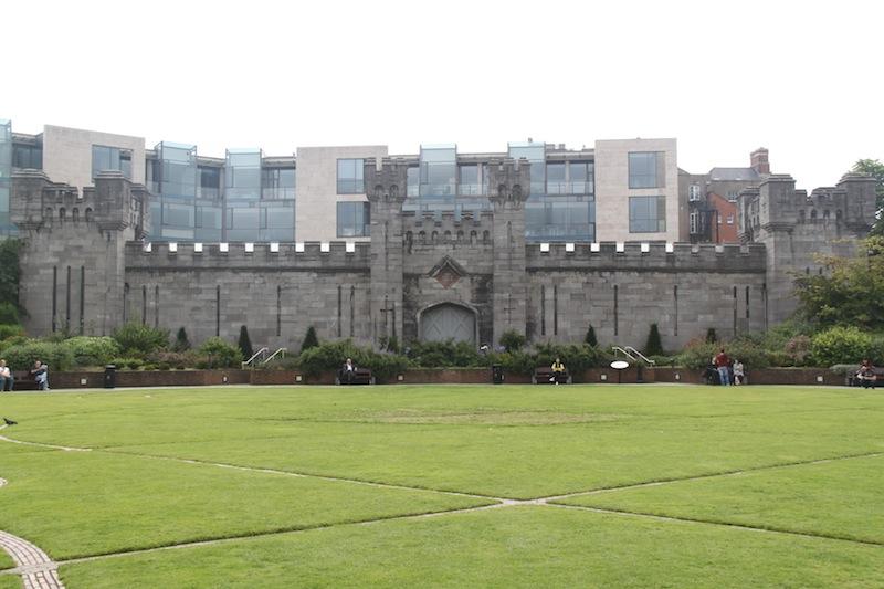 Irlanda Dublin Muro de la verguenza